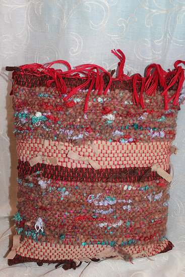 Woven Wool & Mixed Fiber Pillow