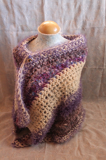 Leicester Long Wool Shawl