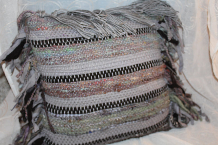 Woven Wool & Mixed Fiber Pillow