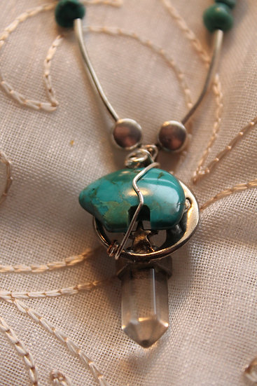 Native American Turquoise (re-design) Necklace