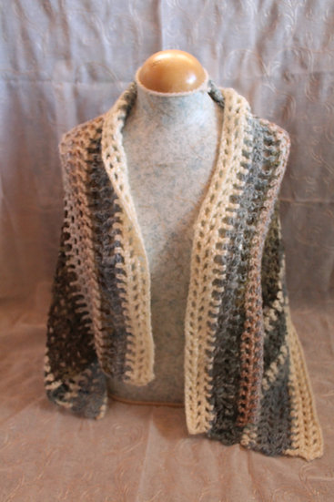 Lincoln Long Wool Shawl