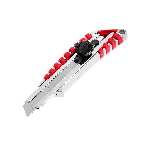 Нож металлический Master 13-05-106, усиленный, сегментированное лезвие, 18 мм