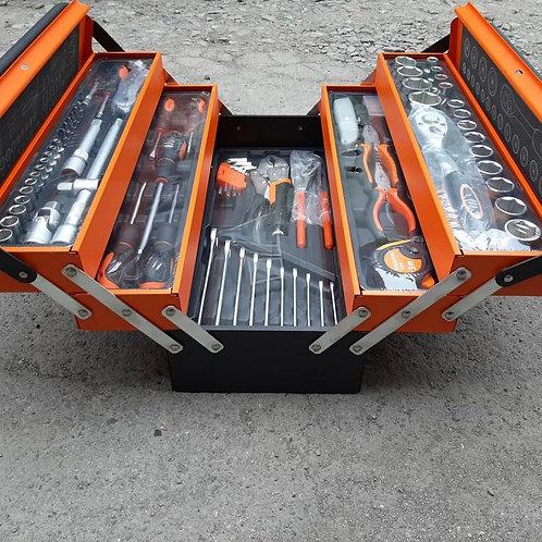 Набор 85 предметов в раскладном чемодане СТ128502