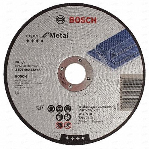 Круг отрезной по металлу Bosch d. 150*2,5*22,23