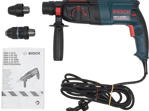 Перфоратор BOSCH GBH2-26DRE 800W (быстросъёмный патрон)