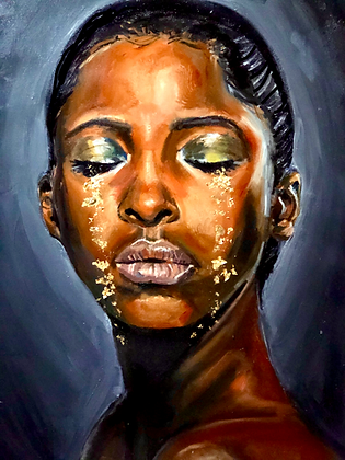 Golden Tears Print