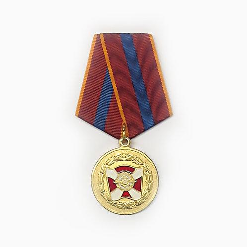"""Медаль ВВ МВД """"За содействие"""""""