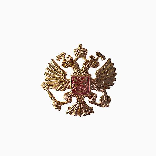 Эмблема МВД на тулью фуражки, с/о