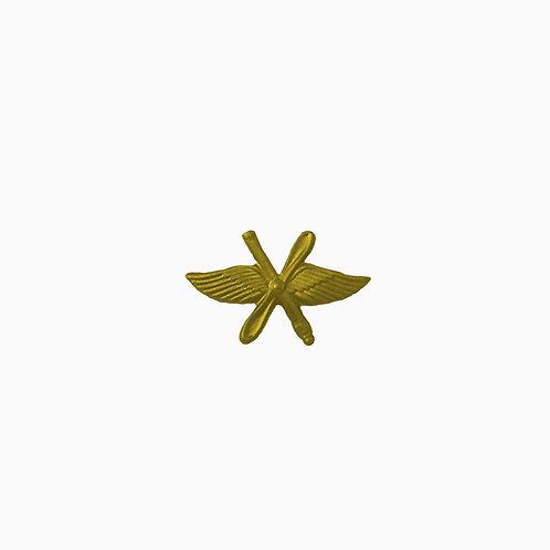 """Эмблема """"ВВС"""" золотая"""