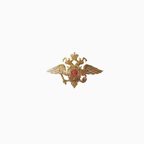 Эмблема МВД на пилотки и береты