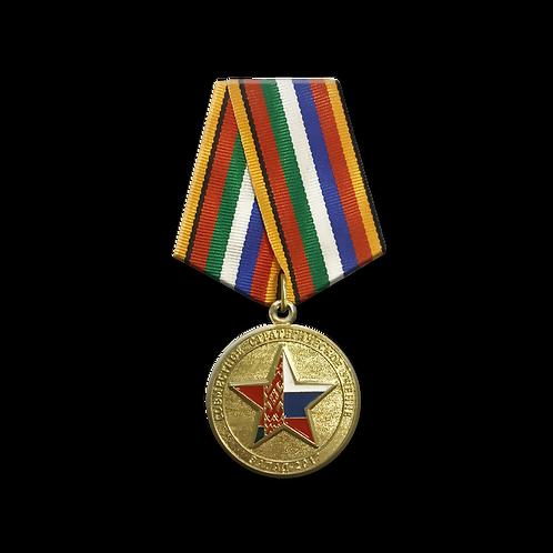 Медаль МО «Совместное стратегическое учение Запад-2017»