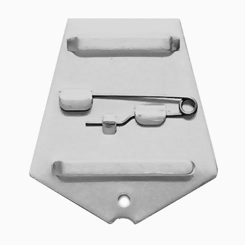 Колодка пятиугольная алюминиевая