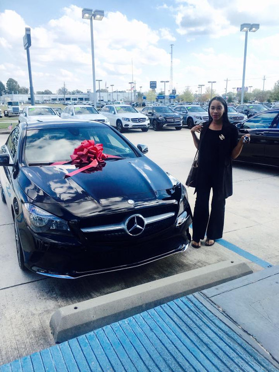 Congrats to My Client Bey On Her Brand New Benz!