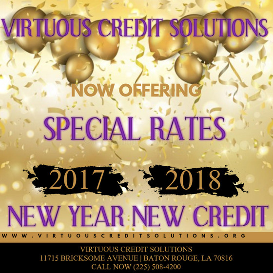 New Year New Credit New You