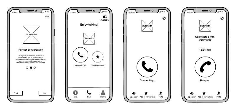 RH App Design Lo Fi