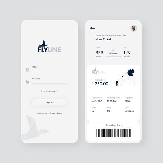 Airline App Design
