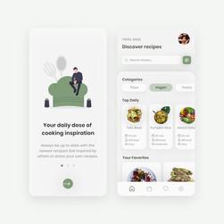 Cooking App Design