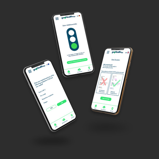 GeoHealthApp Appdesign UI/UX