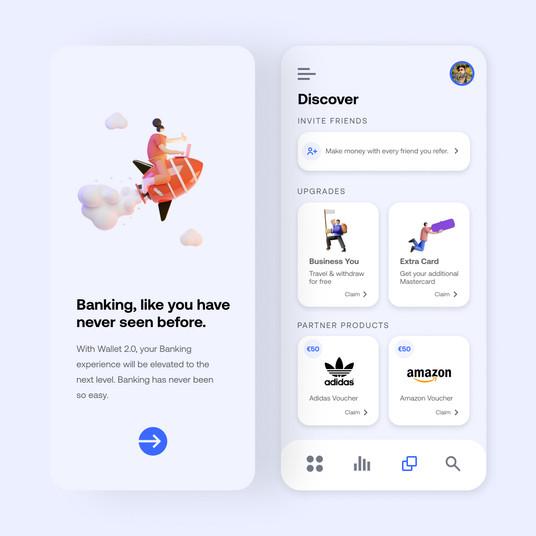 Banking App Design 2