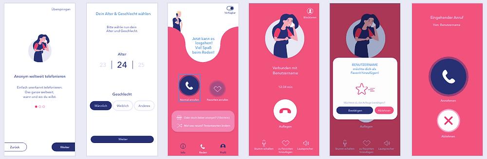 RH App Design