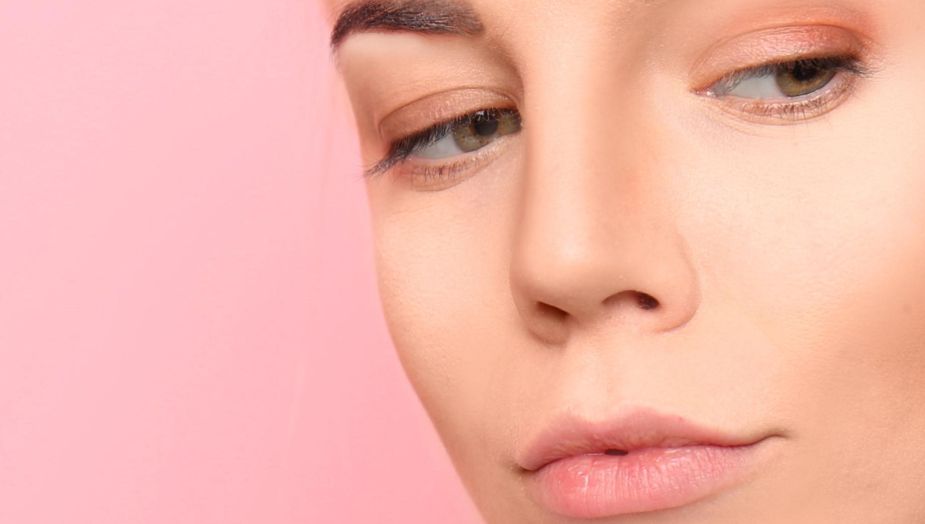 Nude Schatten Make-up