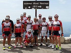Cycles Lleba au sommet du Mont Ventoux