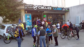Cycles Lleba départ Rando