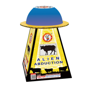 ALIEN ABDUCTION BASE FOUNTAIN P3204