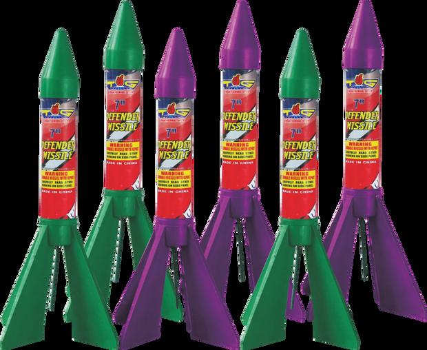 7 INCH DEFENDER MISSILE TGR108