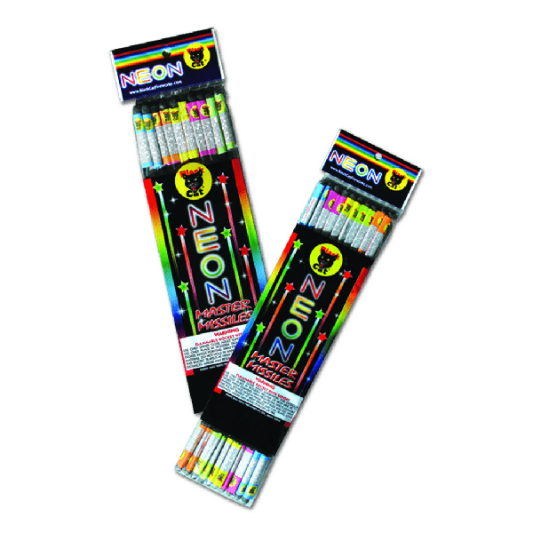 NEON MASTER MISSILE ROCKETS BC-469