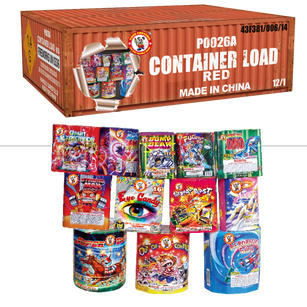 CONTAINER LOAD-RED P0026A