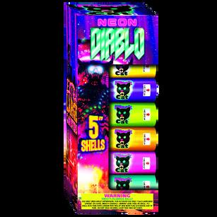 BLACK CAT 5 INCH NEON DIABLO BC-6445