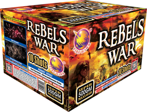 REBELS WAR FB2613
