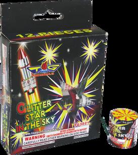 GLITTER STAR IN THE SKY TG3021