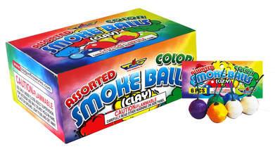 ASSORTED SMOKE BALLS TG2049& TG2050