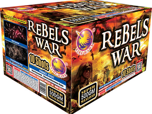 REBELS WAR 10 SHOT