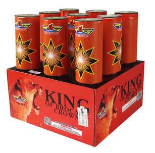"KING OF BROCADE CROWNS 3"" TGA587"