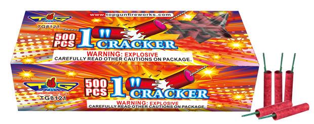 TOP GUN 1'' CRACKERS TG8121