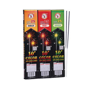 #10 COLORED SPARKLERS P-0750