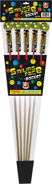 SMILING FACE ROCKET FB0121