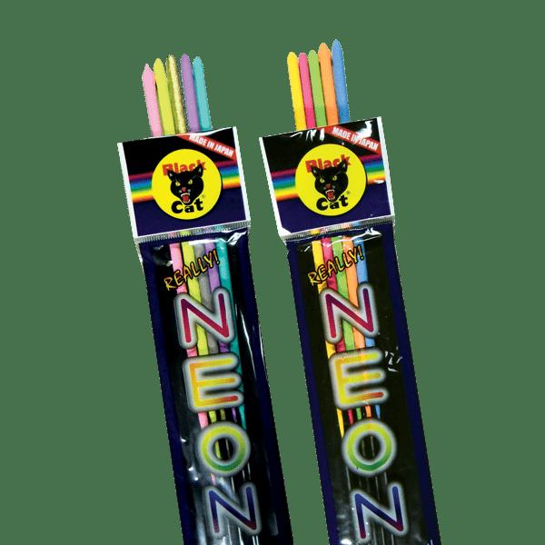 NEON BLACK CAT SPARKLERS BC-313-15