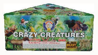 CRAZY CREATURES BP2068