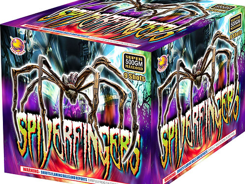 SPIDERFINGERS 9 SHOTS