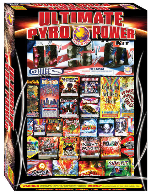 ULTIMATE PYRO POWER FB9020