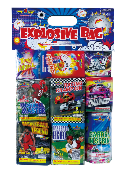 EXPLOSIVE BAG ASSORTMENT TG0179