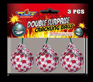 DOUBLE SURPRISE CRACKLING BALLS TG5150