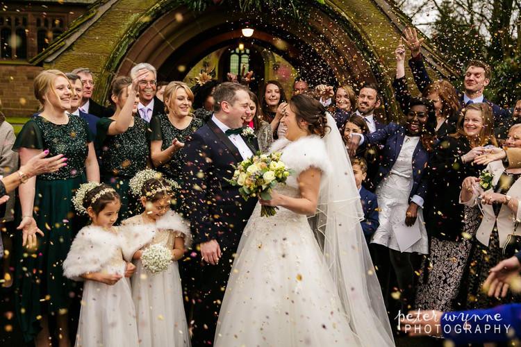 Tarporley Church Wedding