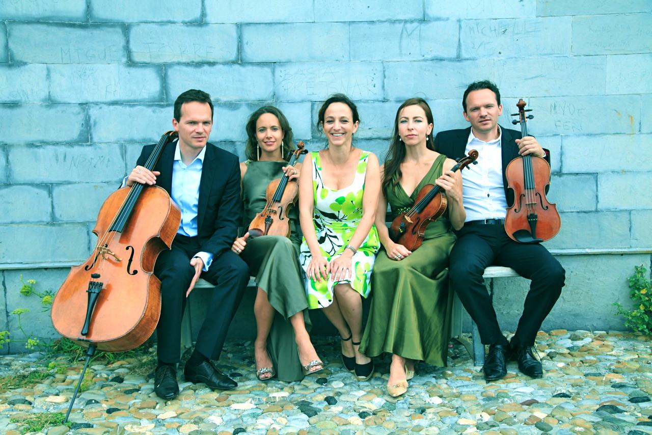 Mit dem Casal Quartett