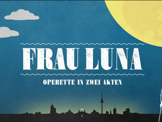 Frau Luna vom 26.10 2016 bis 29.1.2017 im Tipi