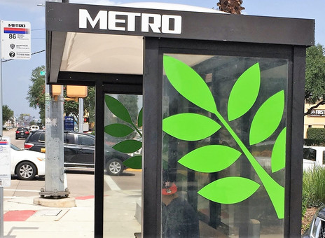 The Power of a Brand: One bus stop at a time.